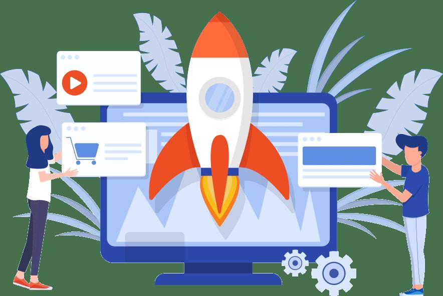 création de sites web à partir de 2500 DH